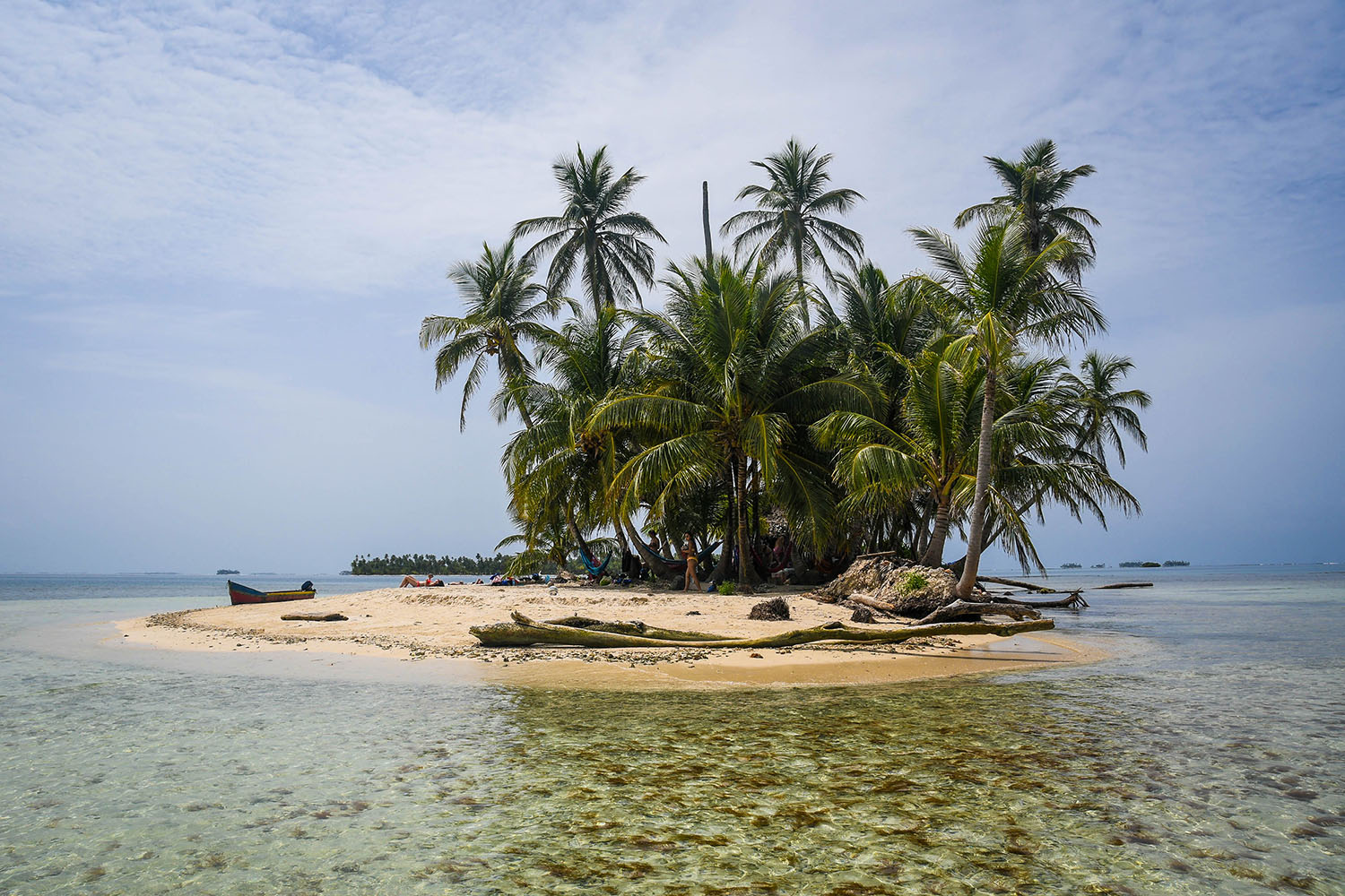 San Blas Islands Panama to Colombia Sandy Beach