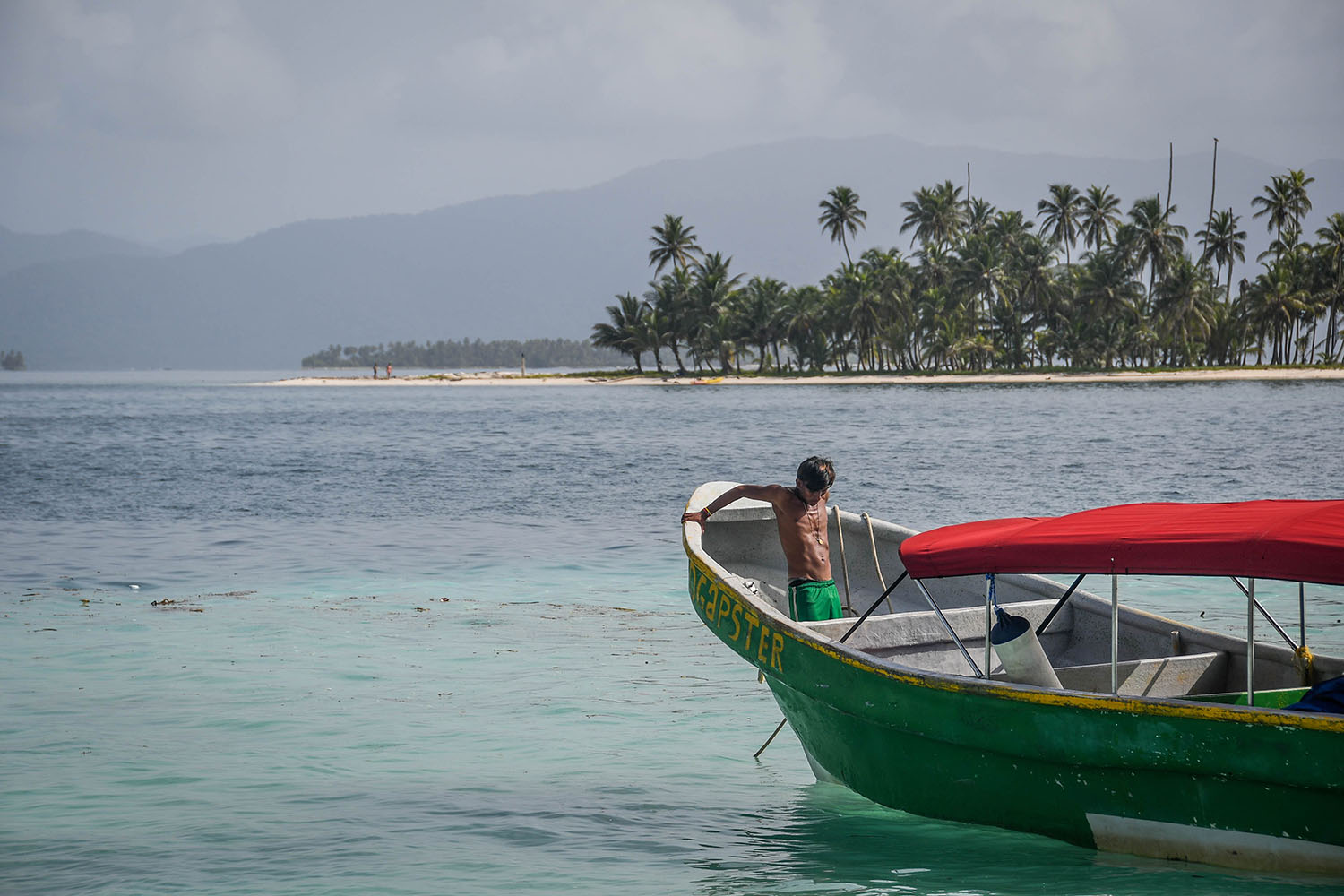 San Blas Islands Panama to Colombia Speed Boat