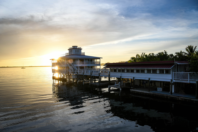 Roatan Honduras Bay Island House over water