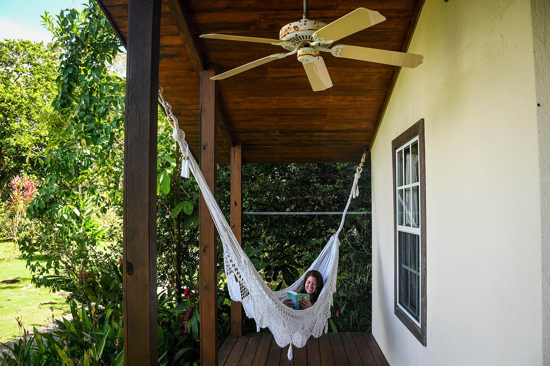 Bocas Del Toro Tranquilo Bay Hammock and Book