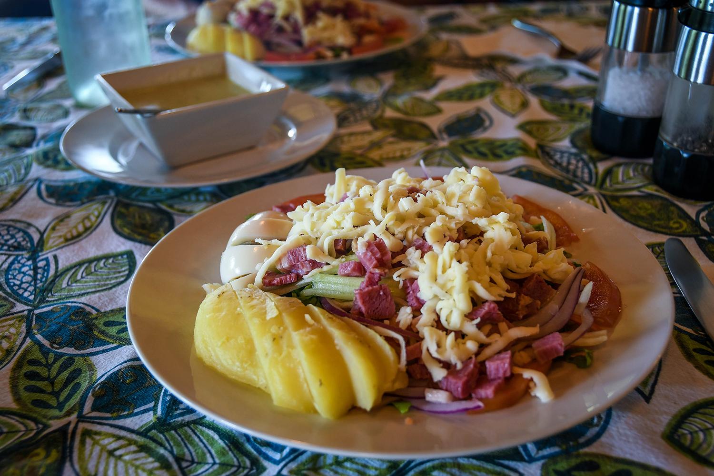 Bocas Del Toro Tranquilo Bay Chop salad
