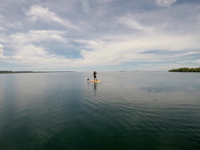Bocas Del Toro Tranquilo Bay SUP