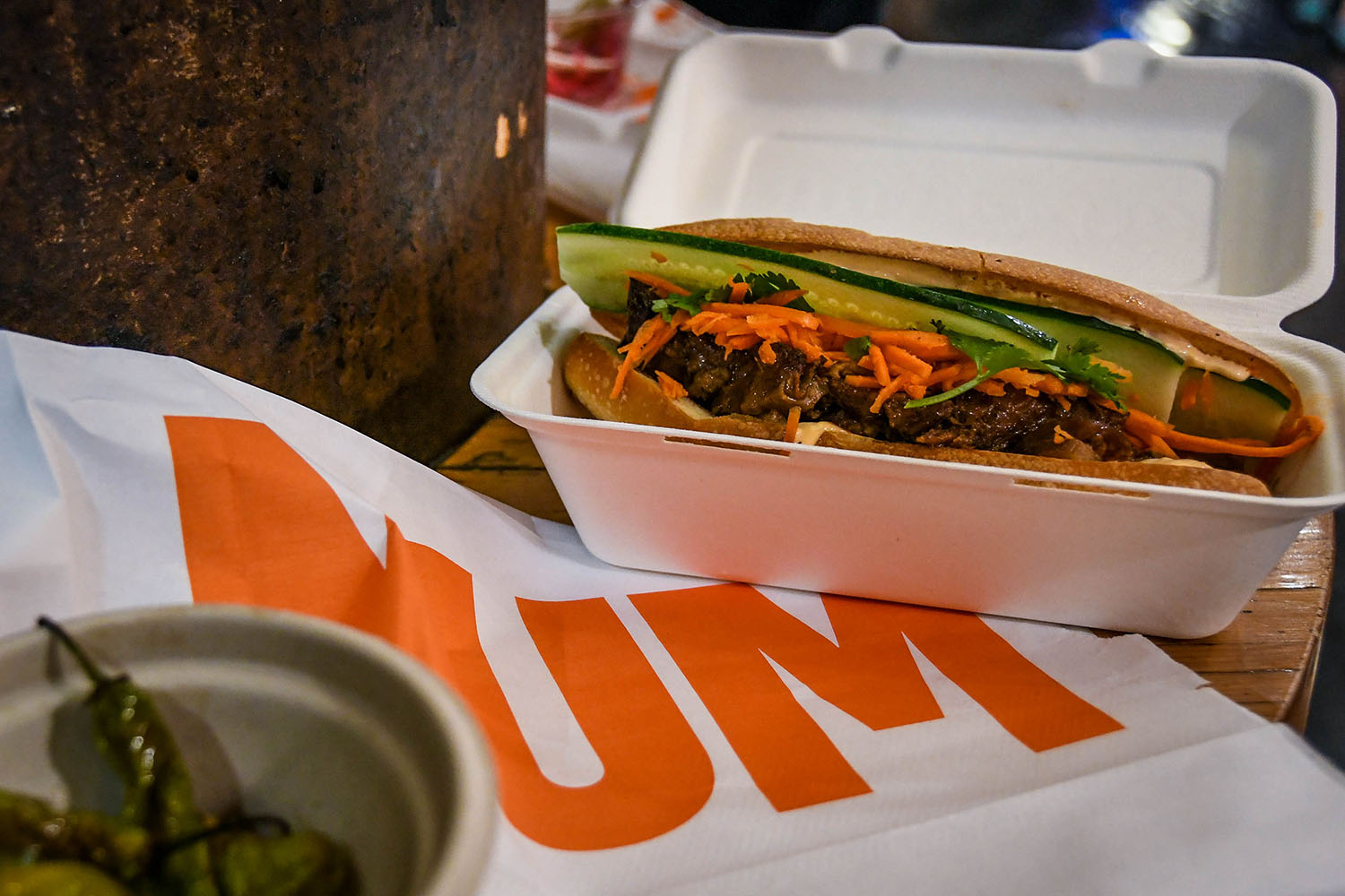 Things to Do in New York City Chelsea Market Num Pang Sandwich