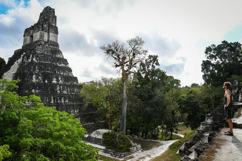 Visit Tikal Guatemala Ancient Ruins