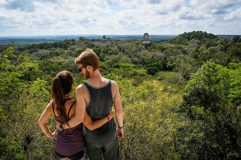 Visit Tikal Guatemala Ancient Ruins Viewpoint