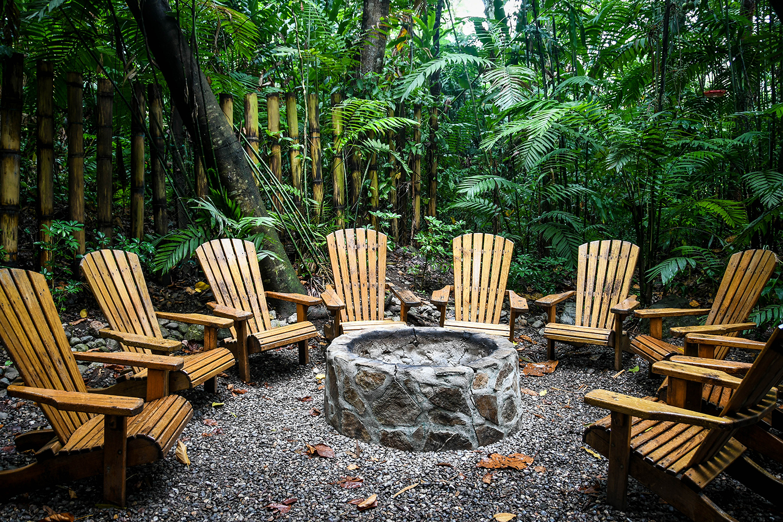 Things to Do in Lake Yojoa Honduras D&D Brewery Bonfire Ring