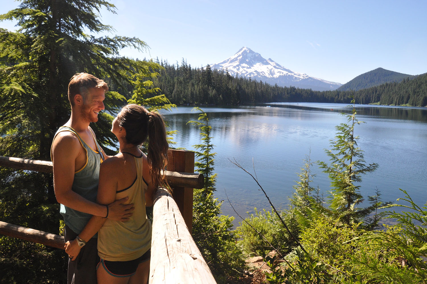 Mount Hood Lake and Mountain Two Wandering Soles