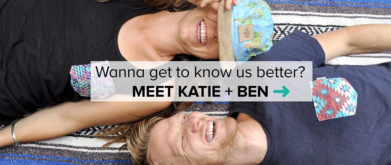 Meet Katie and Ben Two Wandering Soles
