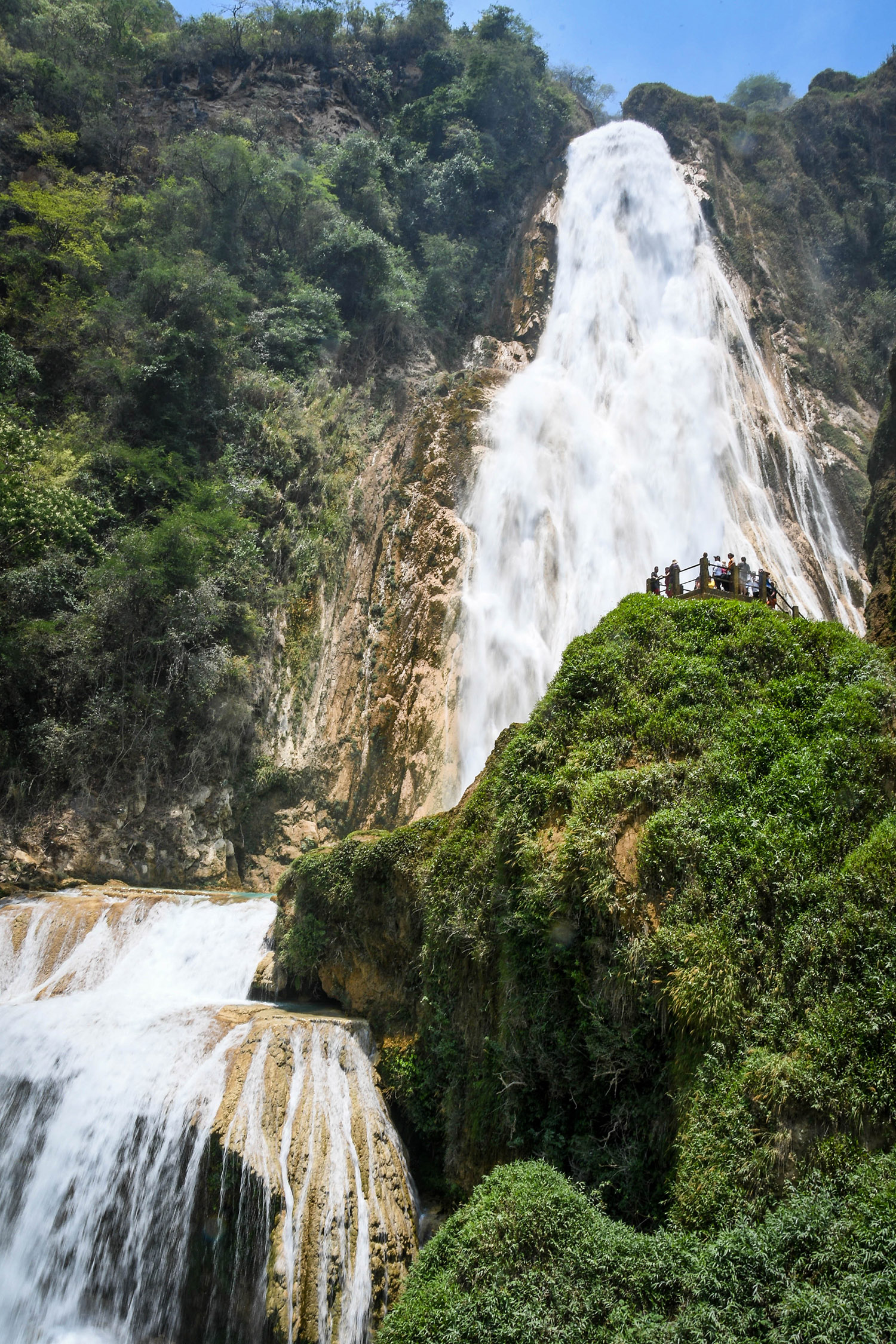 Things to Do in Mexico El Chiflon Waterfall