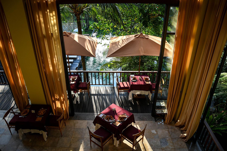 Komaneka at Bisma Ubud Resort Dining and Pool