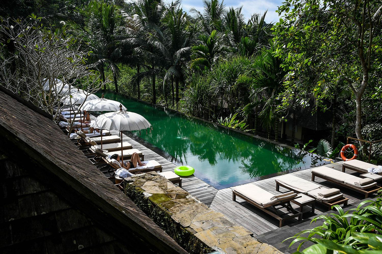 Komaneka at Bisma Ubud Resort Review Infinity Pool