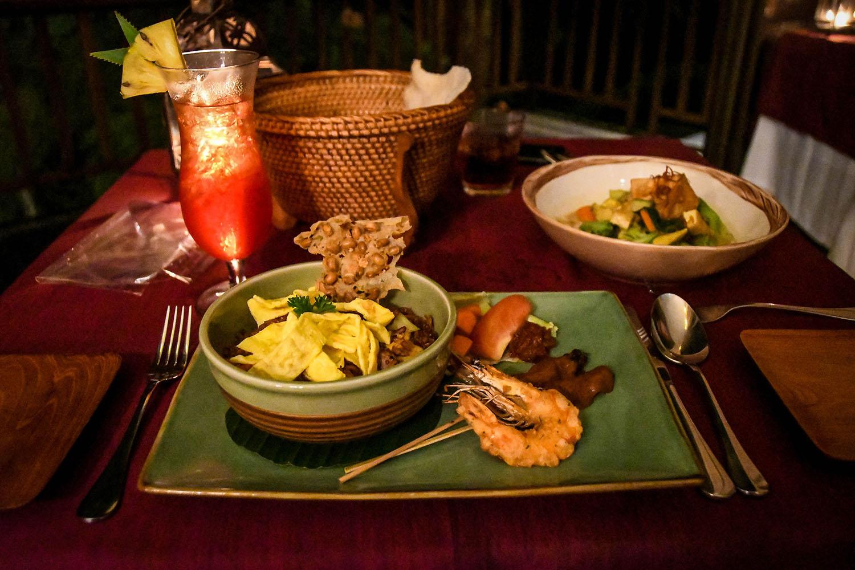 Komaneka at Bisma Ubud Resort Review Resaurant