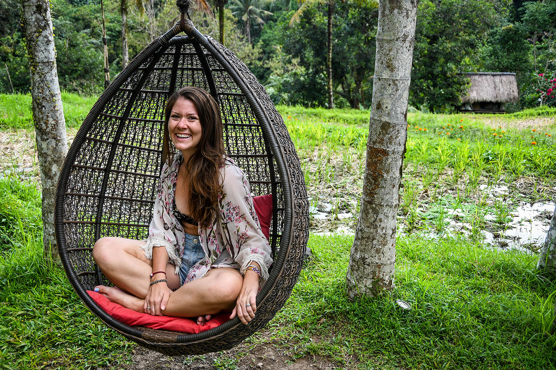 Komaneka at Bisma Ubud Resort Review Egg Swing