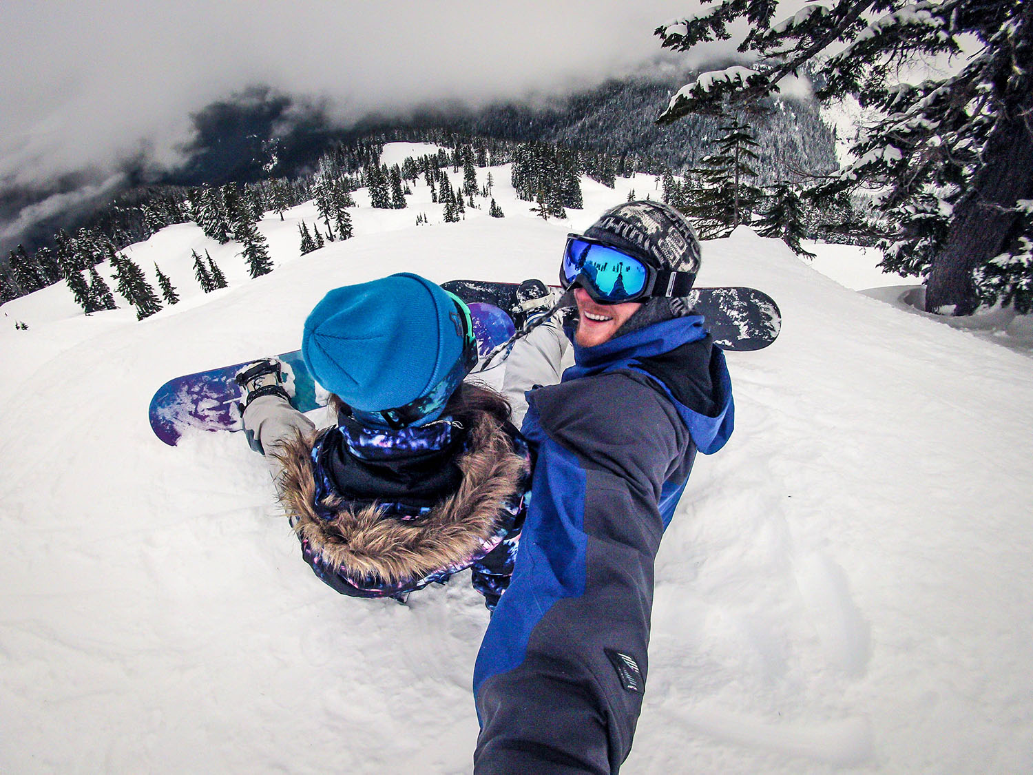 How We Afford to Travel Snowboarding Mount Baker