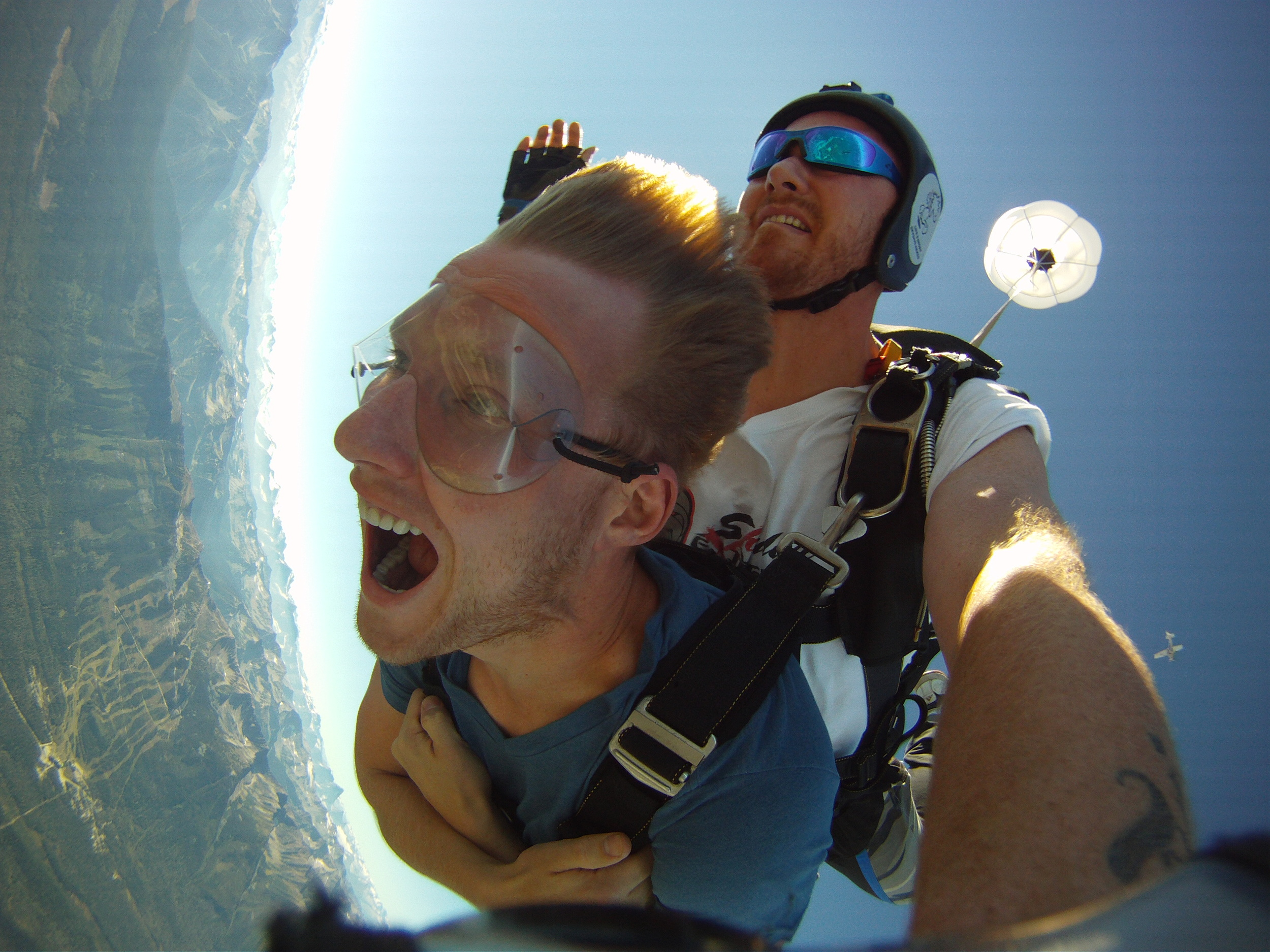 How We Afford to Travel Covered for Skydiving