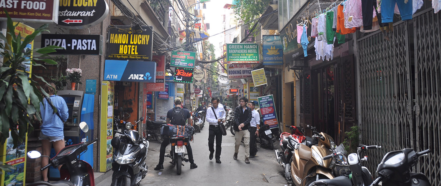 Vietnam Travel Guide: Hanoi Street