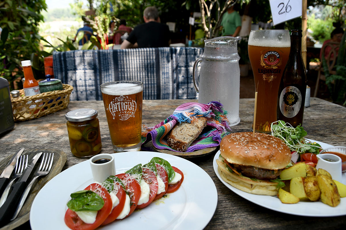 Things to Do in Antigua Guatemala: Caoba Farms Meal and Craft Beer