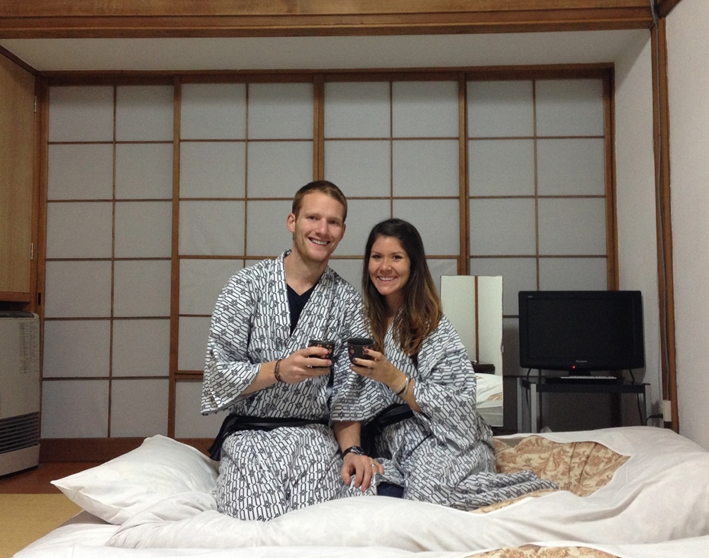 Ryokan Japan and tea