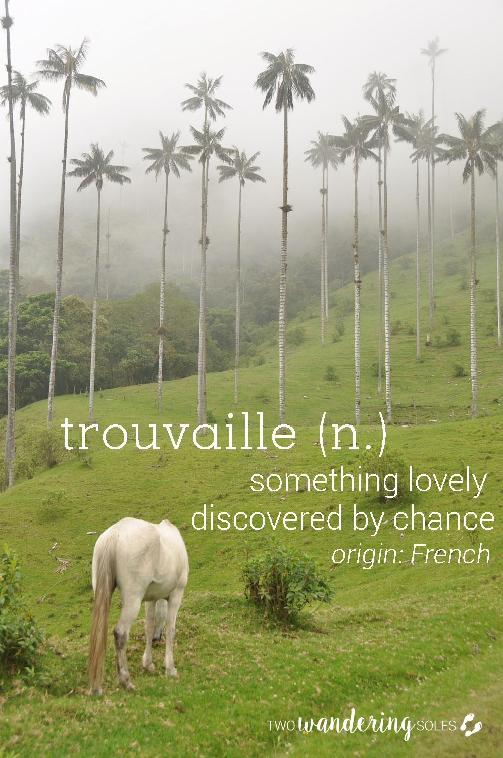 Trouvaille Awesome Travel Words