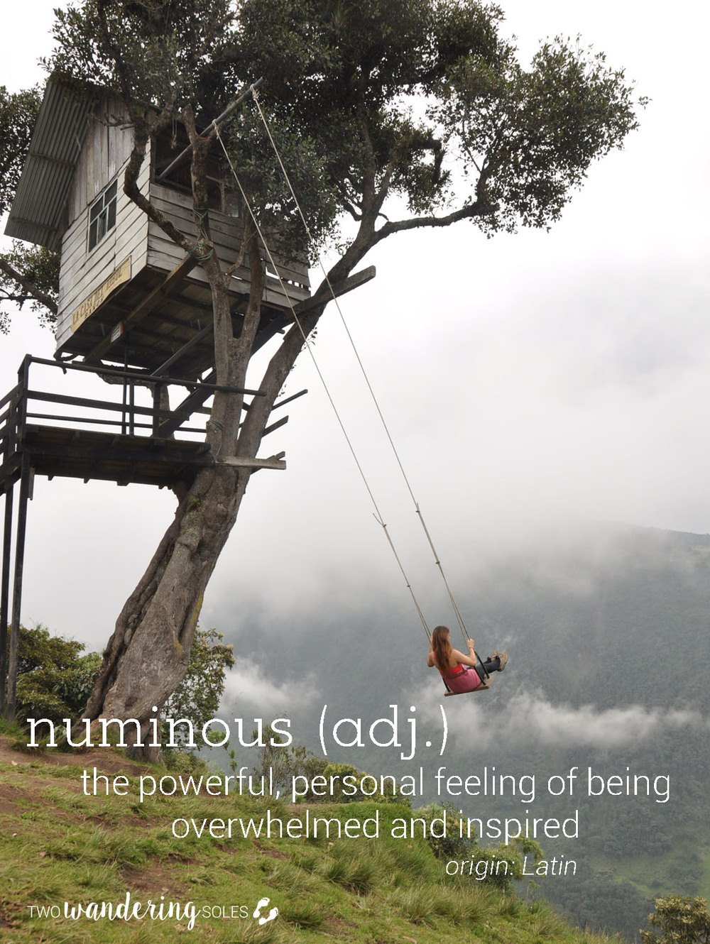 Numinous Awesome Travel Words