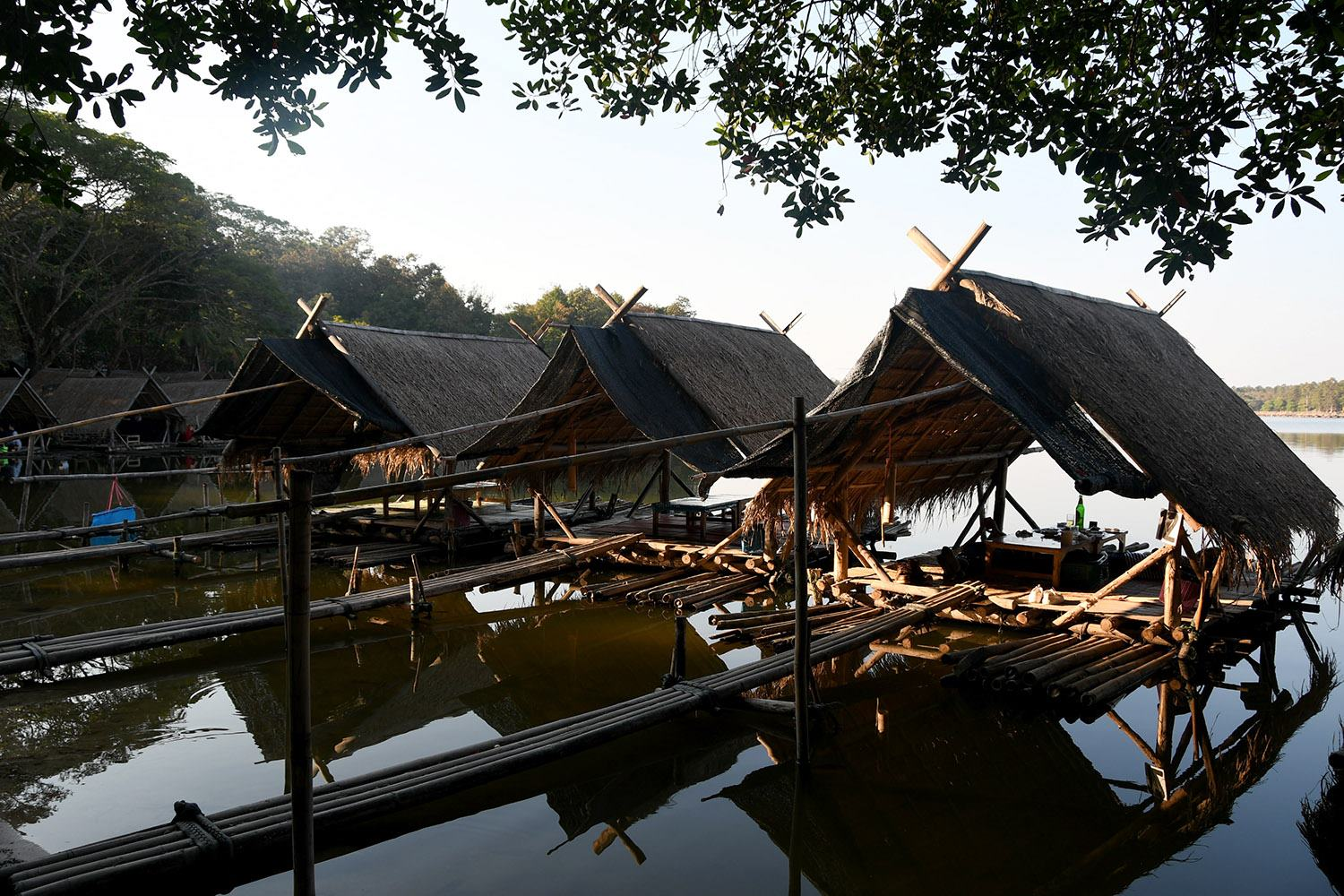 Unique things to do in Chiang Mai Thailand Floating Restaurant