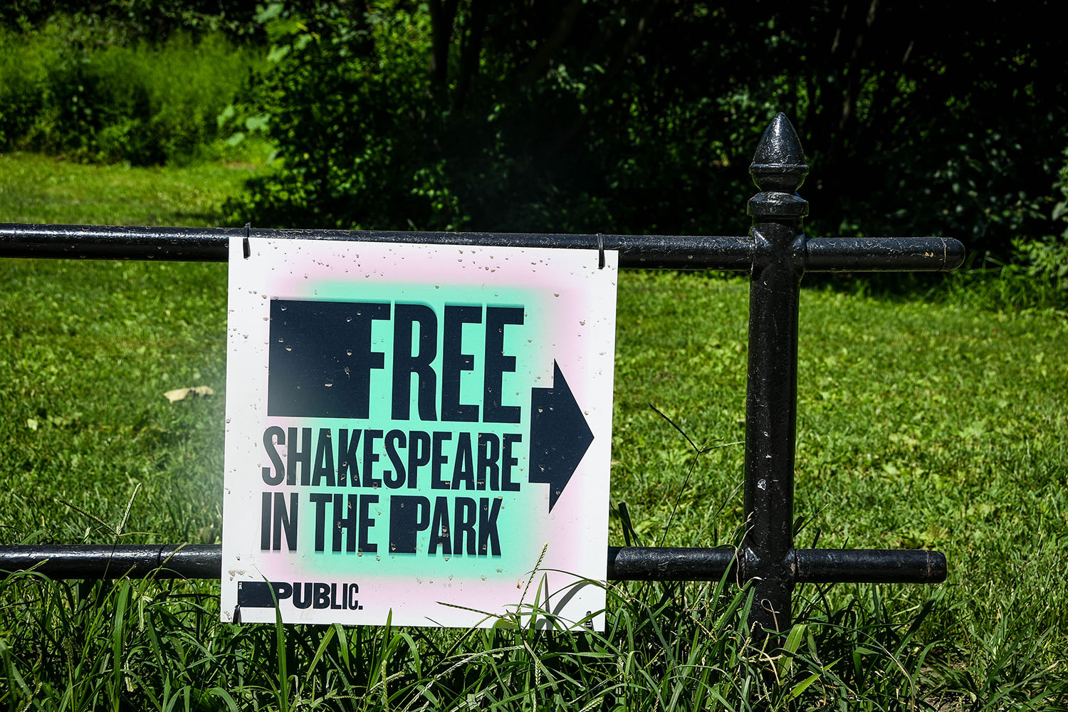 New York City on a budget Shakespeare in the Park