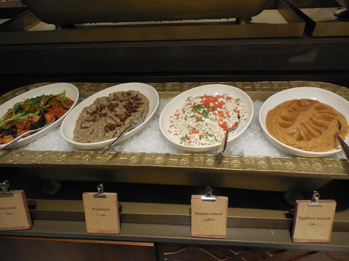 Dubai on a budget Mezze Lunch