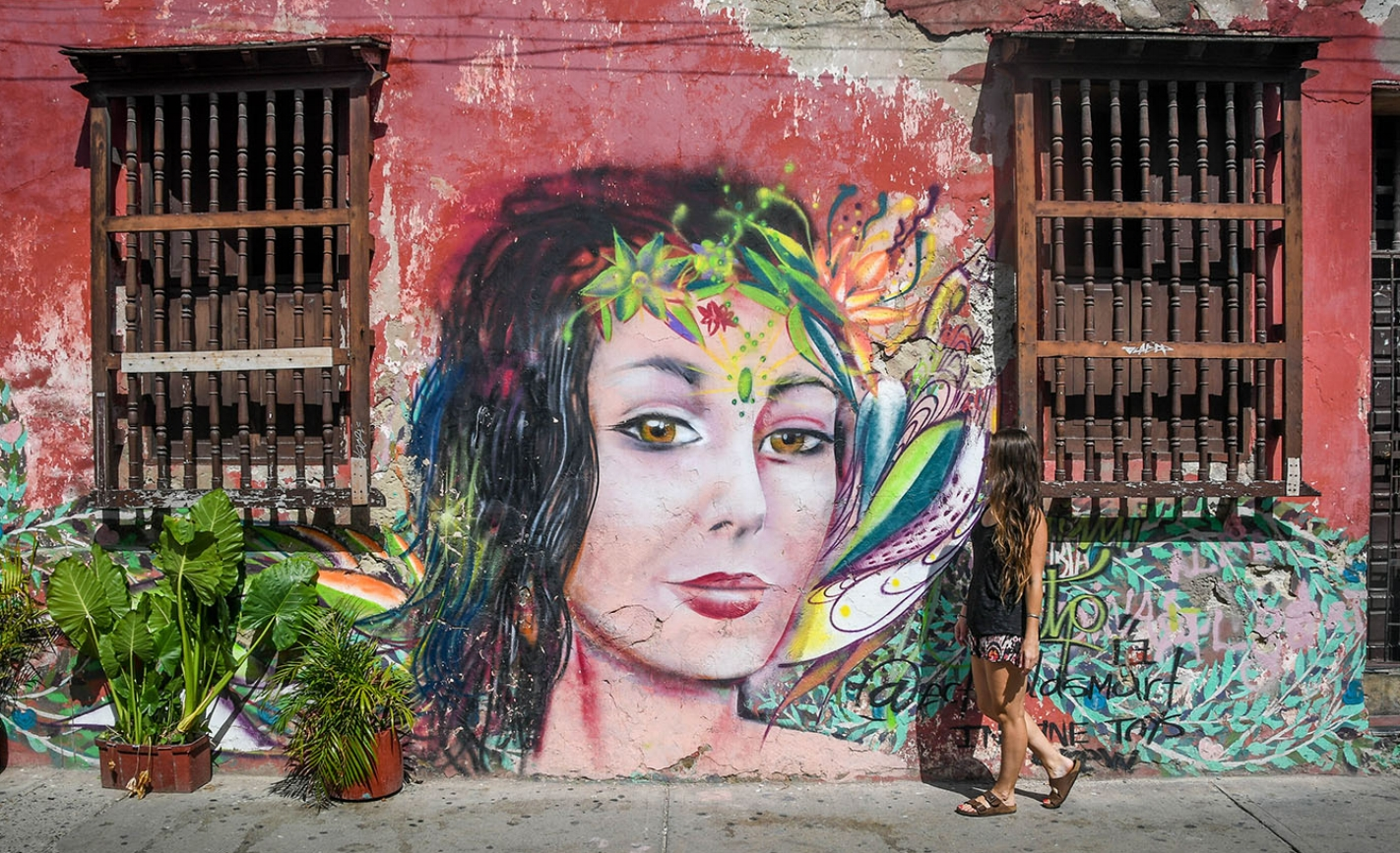 Things to do in Cartagena Street Art Getsemani