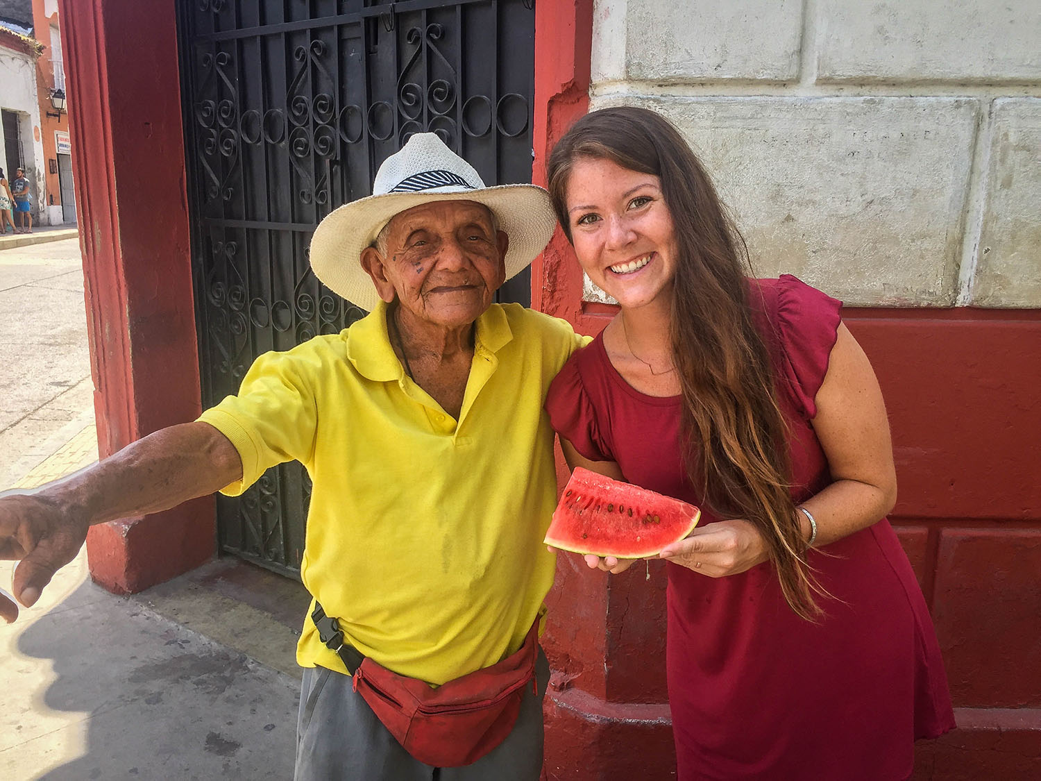 Things to do in Cartagena Fruit Vendor
