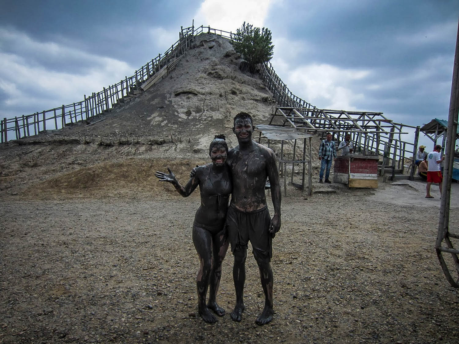 Things to do in Cartagena Volcan del Totumo mud volcano