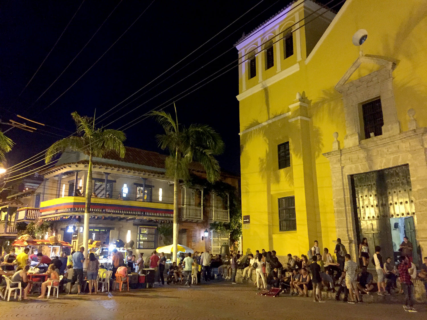 Things to do in Cartagena Colombia Trinidad Square