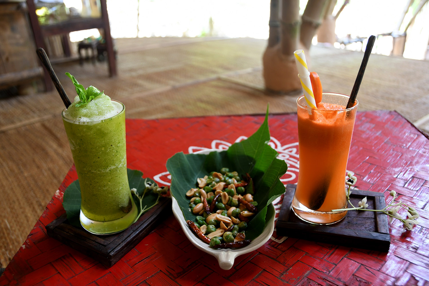 Things to do in Koh Lanta Thailand Asalanta Organic Teahouse