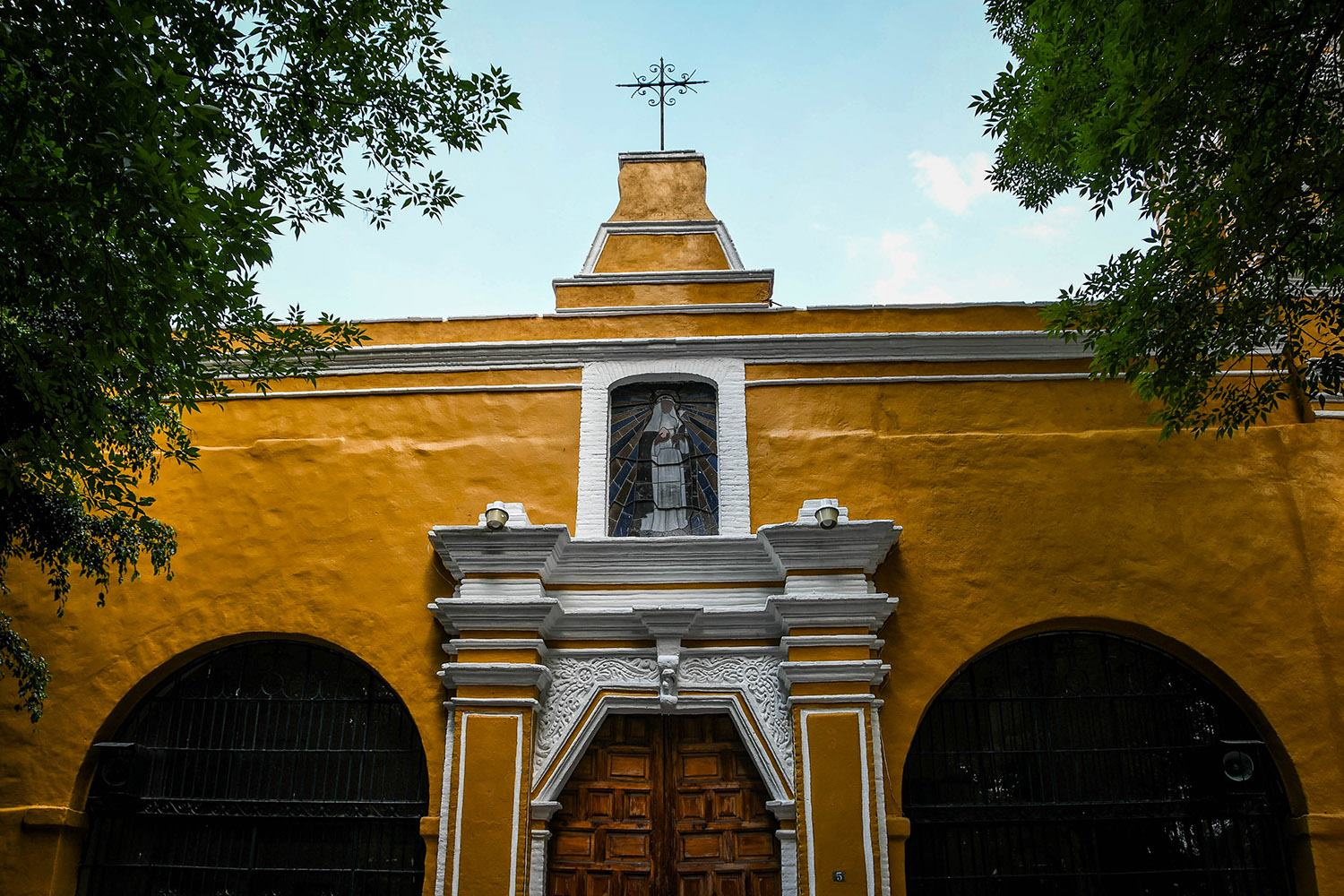 3 Days in Mexico City Itinerary Coyoacan Church