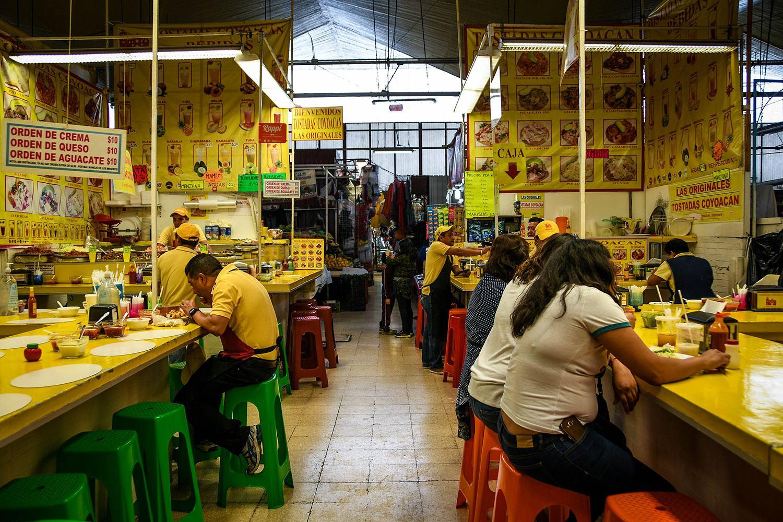 3 Days in Mexico City Itinerary Coyoacan Mercado