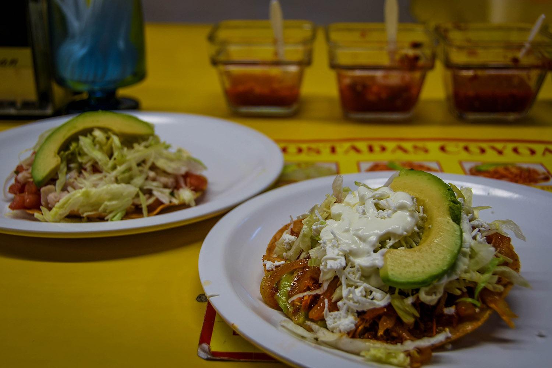 3 Days in Mexico City Itinerary Coyoacan Mercado Tostadas
