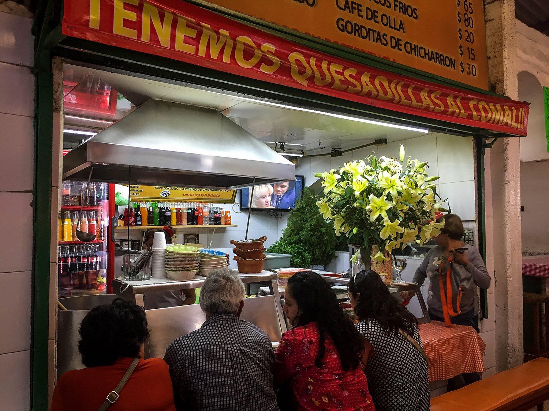 3 days in Mexico City Itinerary Antojitos Market