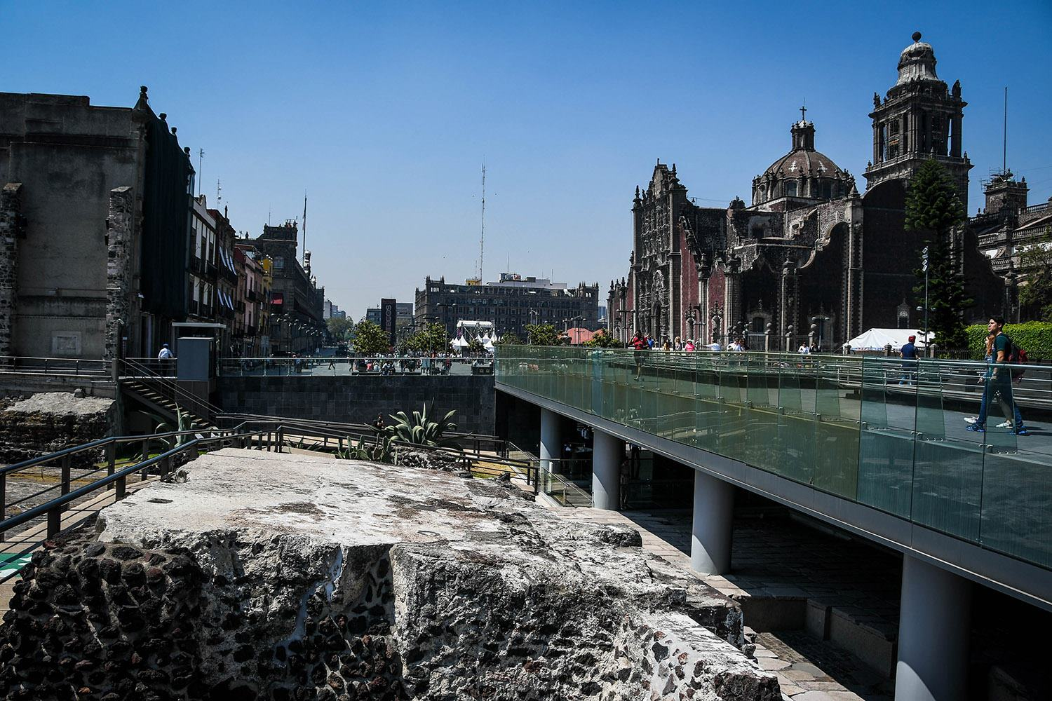 3 Days in Mexico City Itinerary Downtown Centro Tour Ruins