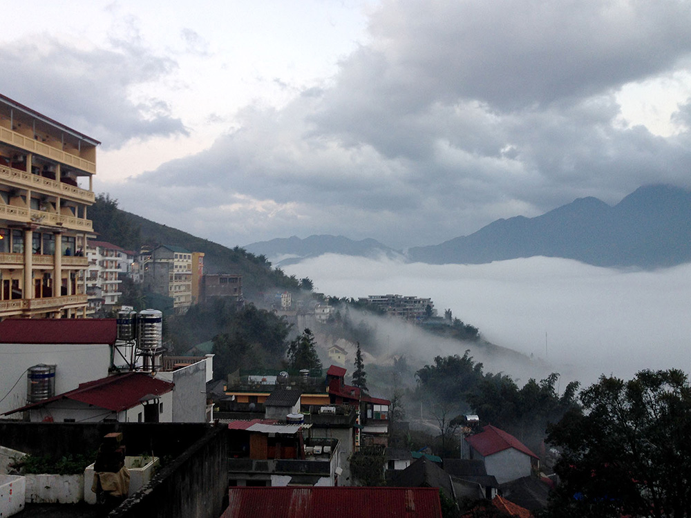 Cloudy Sapa Vietnam Itinerary