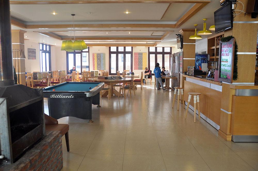 Mountain View Hostel Common Area Sapa Vietnam