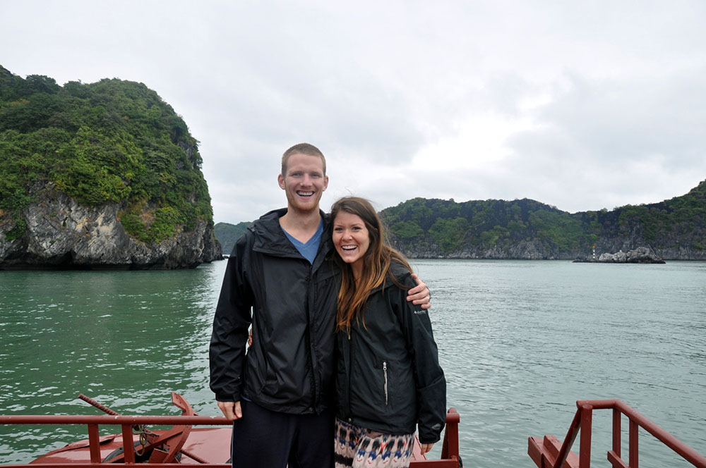 Ha Long Bay Boat Vietnam Itinerary