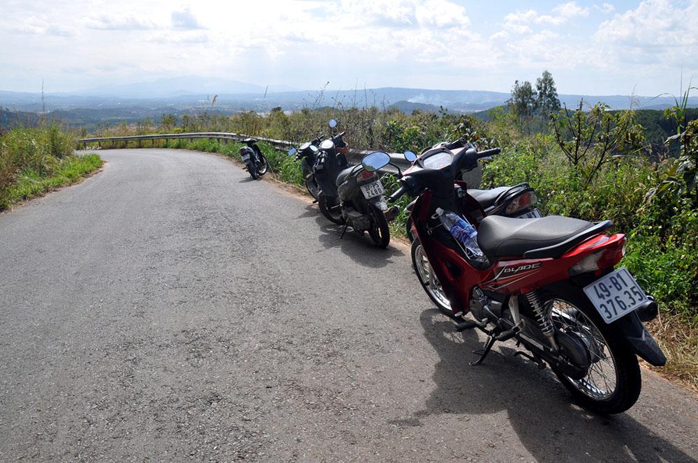 Motorbikes Da Lat Vietnam Itinerary