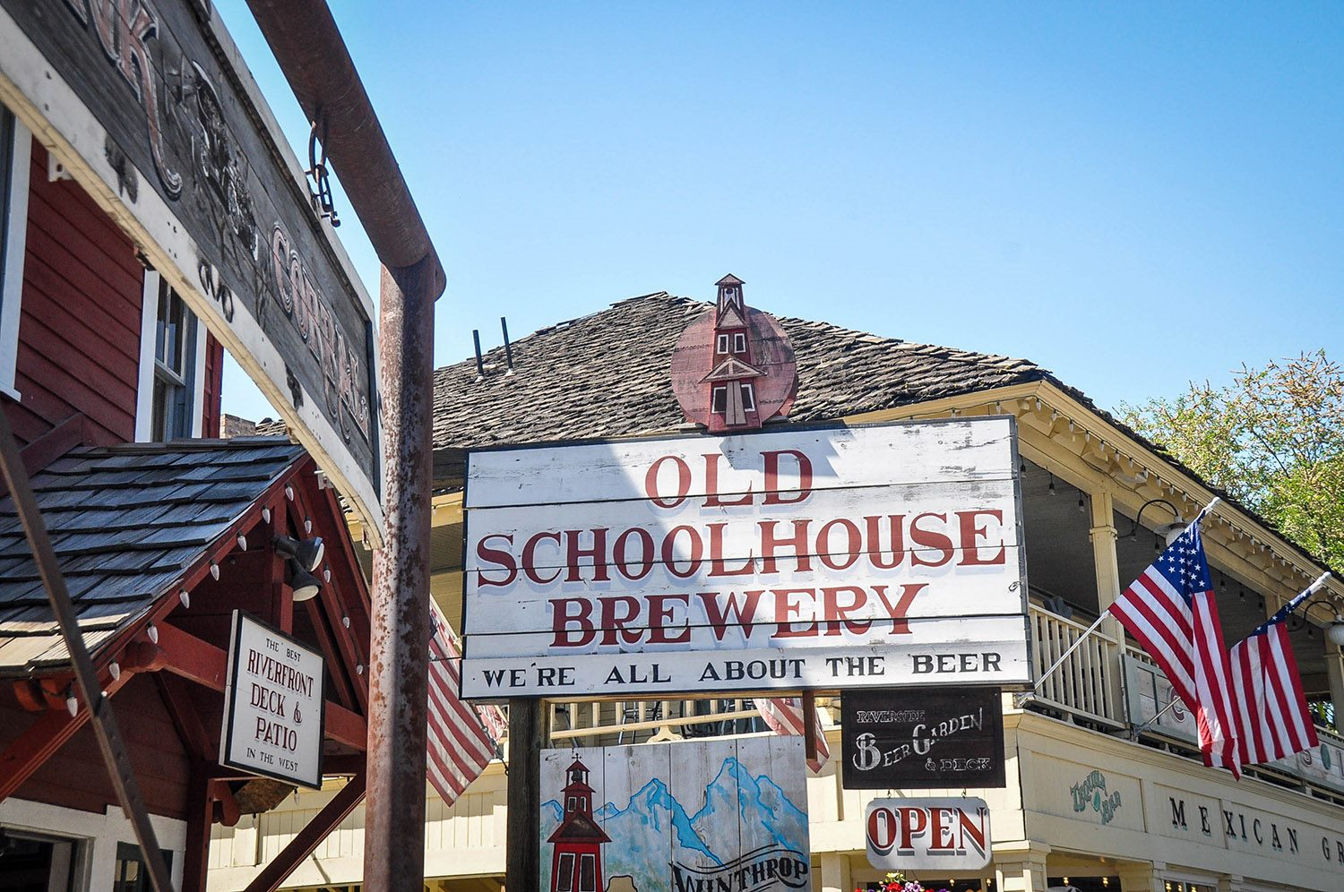 Best Things to Do in Washington State Winthrop Old Schoolhouse Brewery
