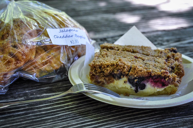 Best Things to Do in Washington State Stehekin Bakery Blueberry Cheese Cake