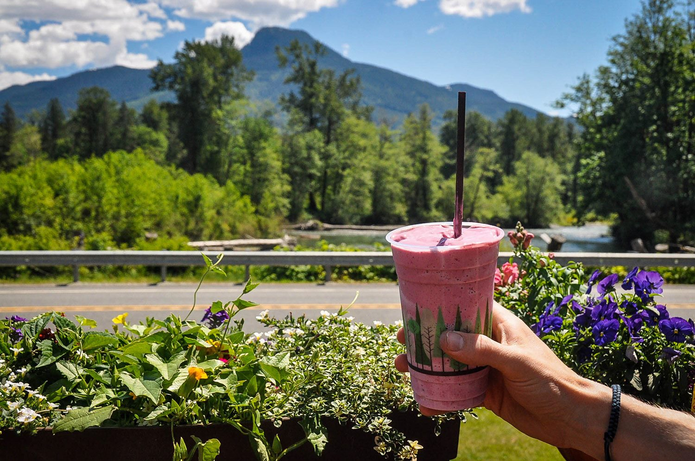 Best Things to Do in Washington State Cascadian Farm Milkshake