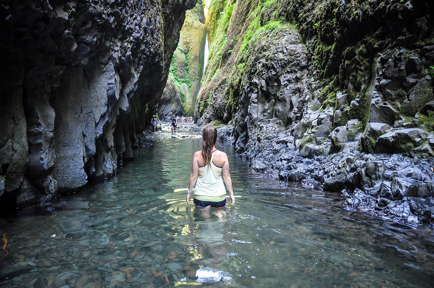 Things to do in Portland Oregon Oneonta Gorge