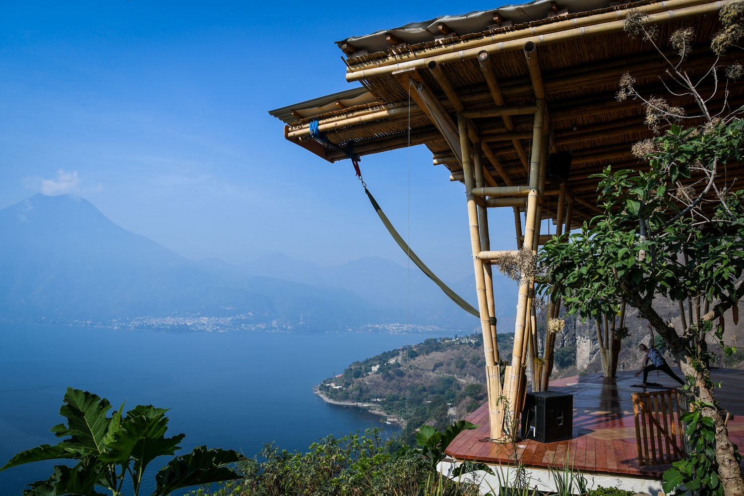 Things to Do in Lake Atitlan: Yoga Class Eagle's Nest Center