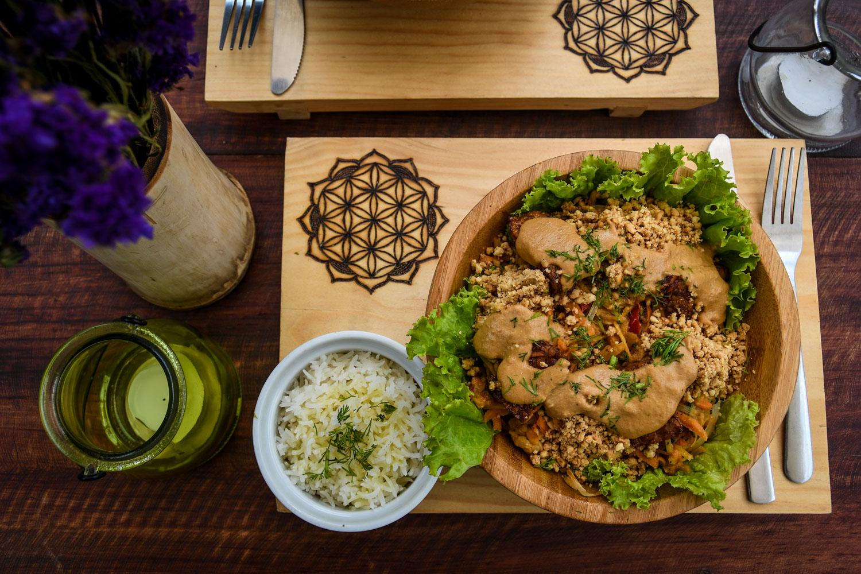 Things to Do in Lake Atitlan: Samsara's Garden Vegan Food