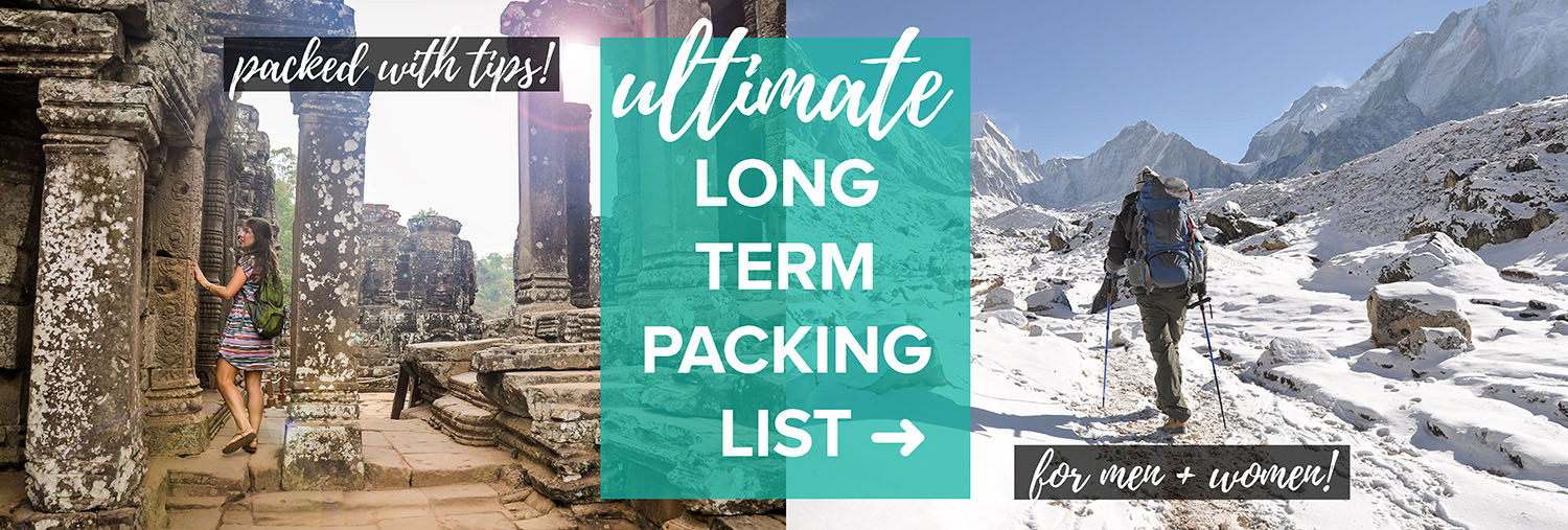 Ultimate Long Term Packing List