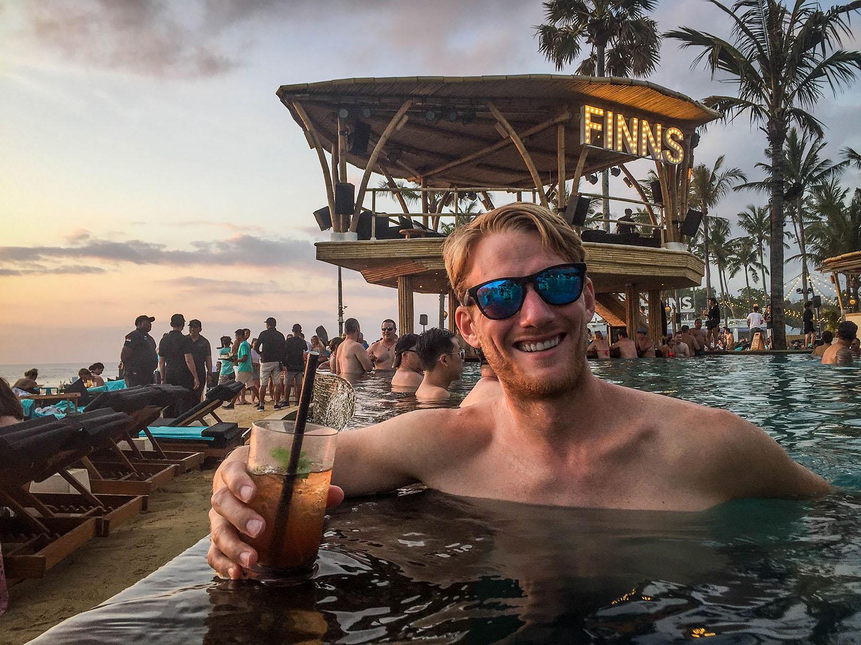 Bali Things to do Finns Beach Club