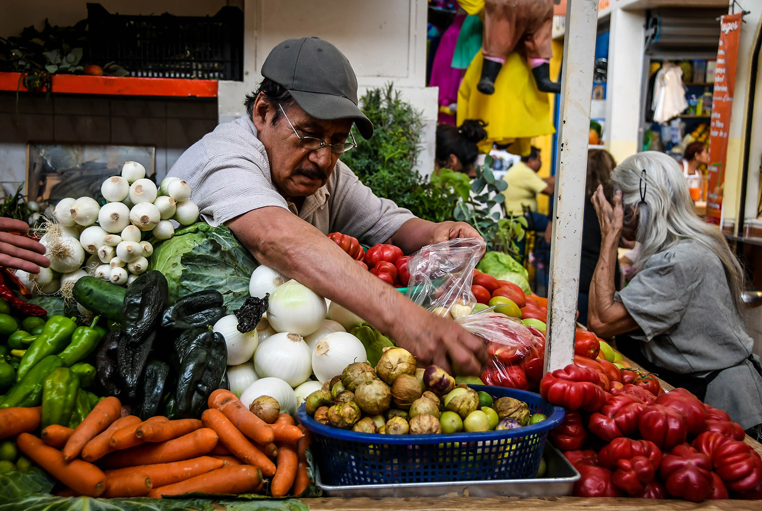 Things to Do in Oaxaca Explore the Markets Vendor